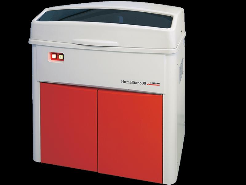 Автоматичний біохімічний аналізатор HumaStar 600 (Human GmbH, Німеччина)